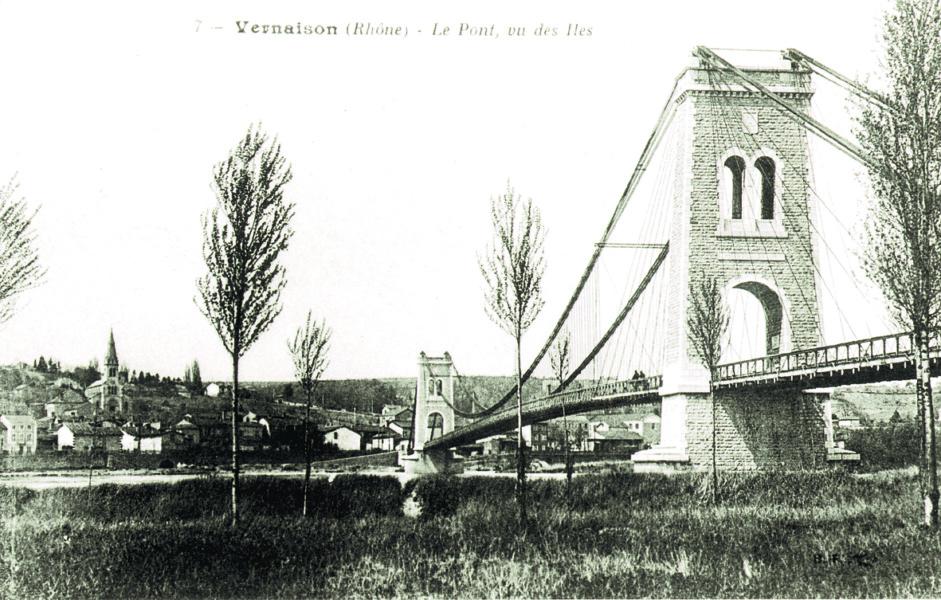 Ancien pont Vernaison © SMIRIL