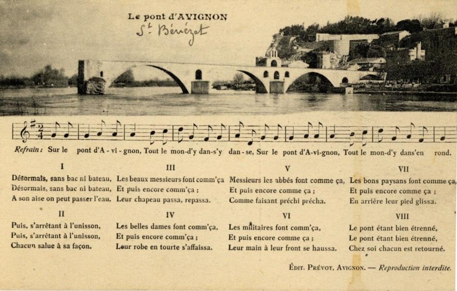 Avignon Le Pont d