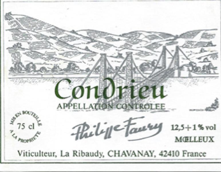 Condrieu Faury © Jean-Paul Bravard