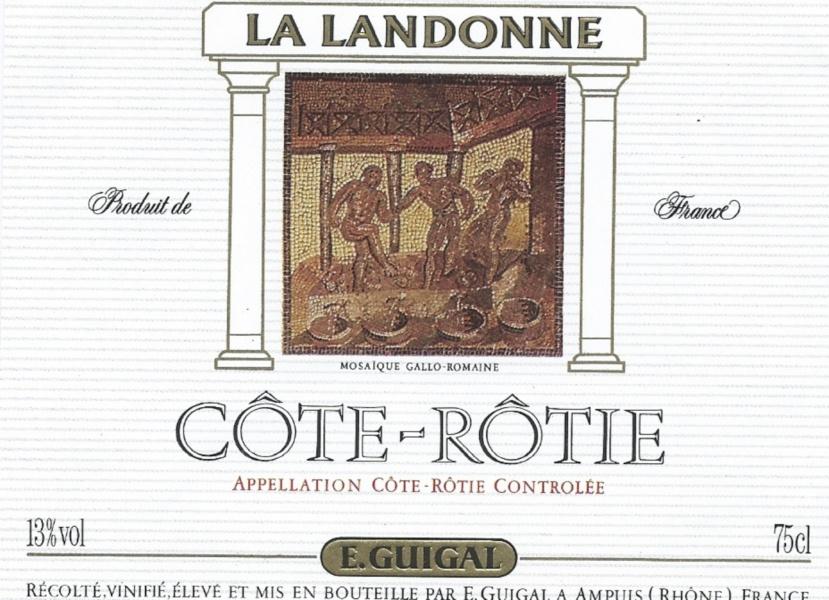 Cote Rotie Guigal la Landonne © Jean-Paul Bravard