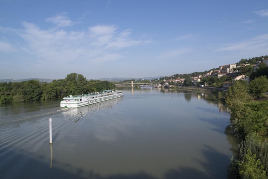 Croisière sur la Saône © Philippe Hervouet