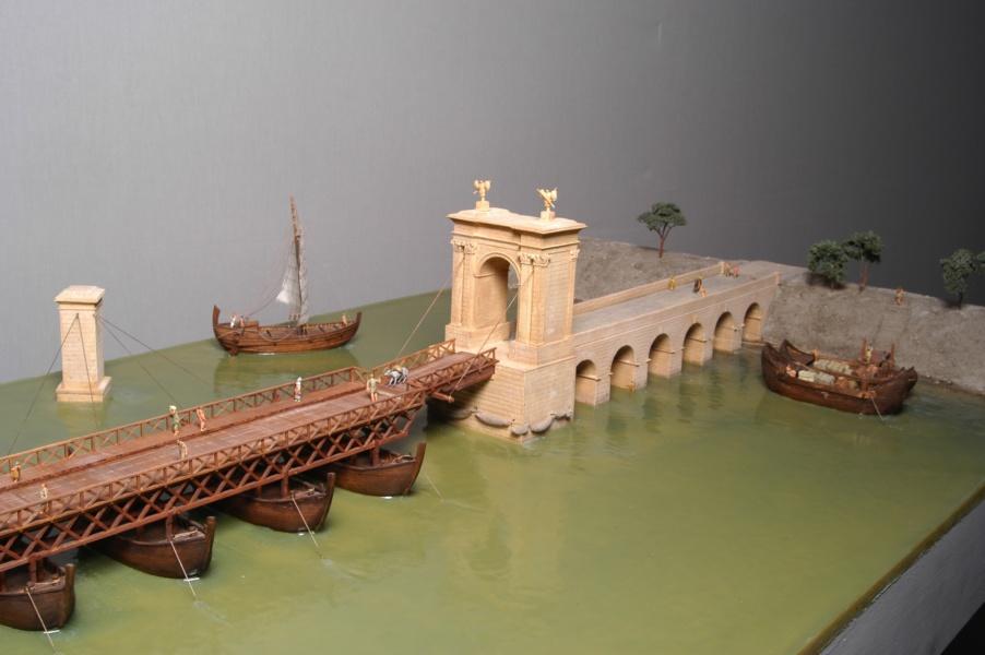 Détail maquette pont de bateau 1©CD13-MDAA Lacanaud