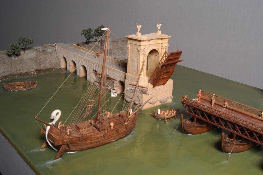 Détail maquette pont de bateau 3©CD13-MDAA Lacanaud