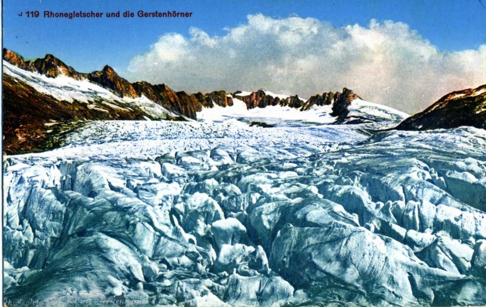 Glacier du Rhône © Coll Dürenmatt, Promofluvia-BMLyon