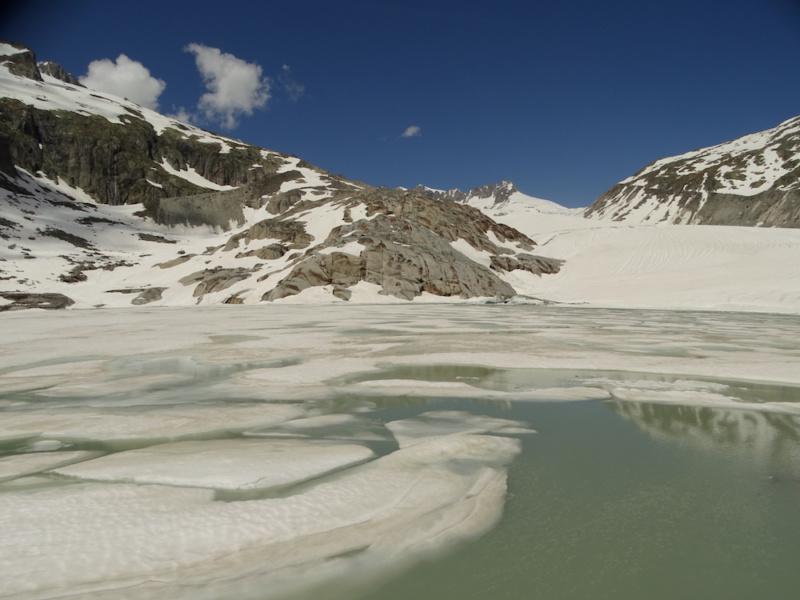 Glacier du Rhone © Jean Louis Michelot