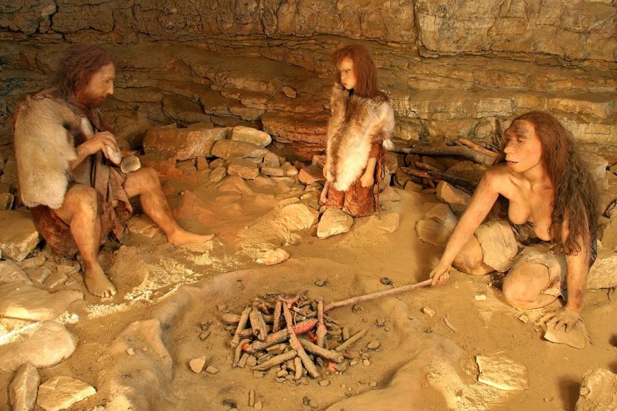 Grottes de Soyons, habitations du Néandertal ©Michel Rissoan