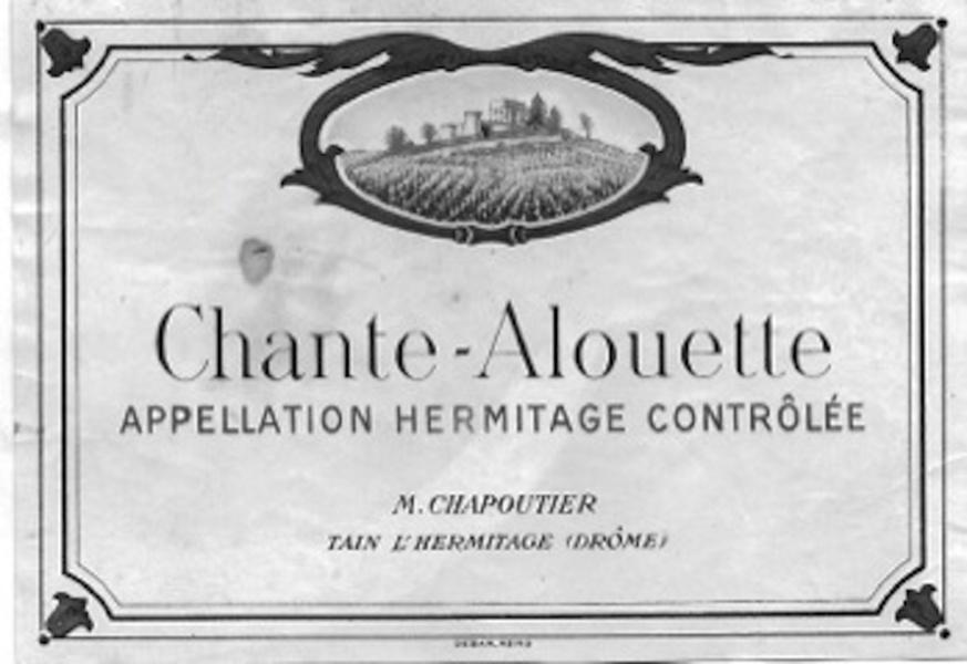 Hermitage Chapoutier Chante-Alouette © Jean-Paul Bravard