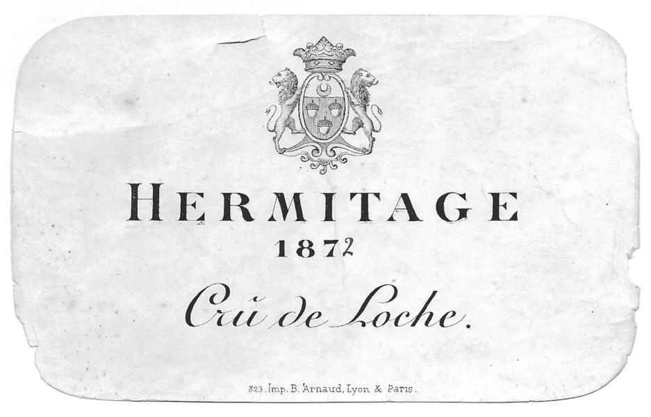 Hermitage crû de Loche © Jean-Paul Bravard