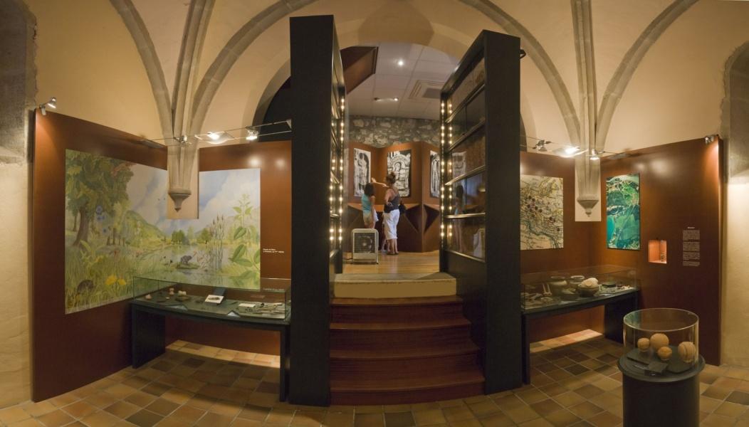 Intérieur du Musée gallo-romain de Chanaz© Musée gallo-romain de Chanaz
