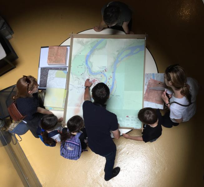 Journées Nationales Archéologie Jeux de cartes © Service Archéologique Ville de Lyon