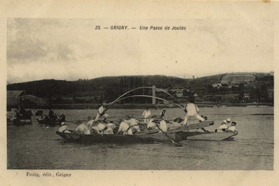 Joutes à Grigny © SMIRIL