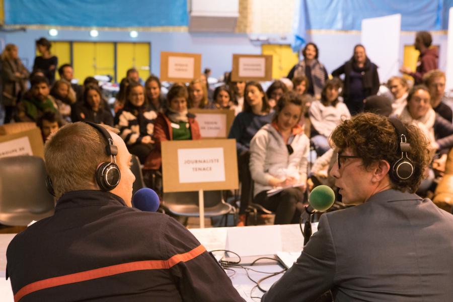 La Folie Kilomètre (UNE NUIT) Arles Conférence de presse © Magda