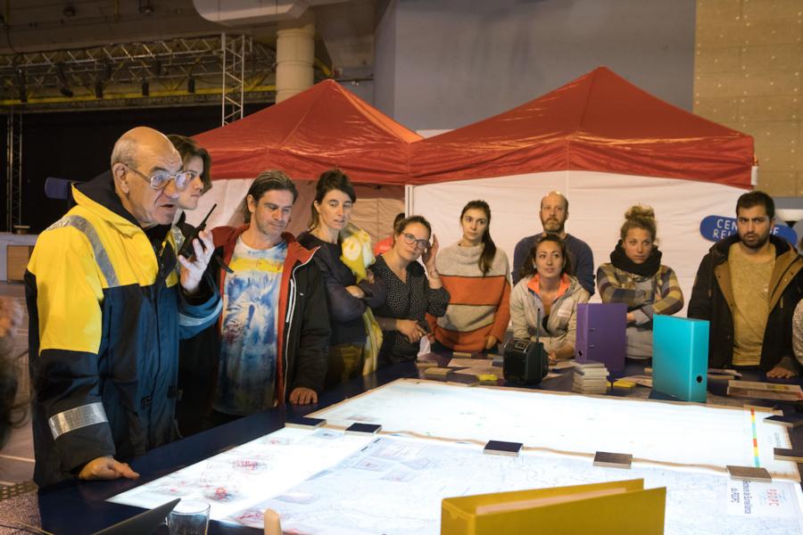 La Folie Kilomètre (UNE NUIT) Arles PC sécurité © Magda