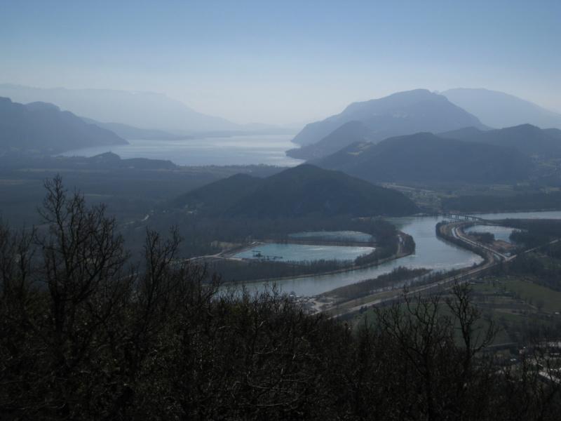 lac du Bourget et Rhone © Syndicat du Haut-Rhone