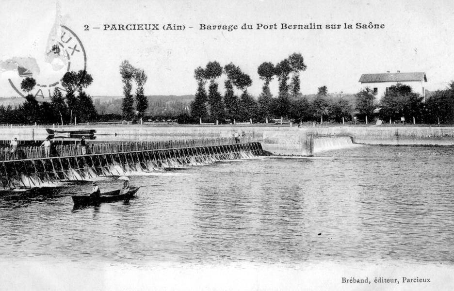 Le barrage à aiguilles© Communauté de communes Dombes Saône Vallée