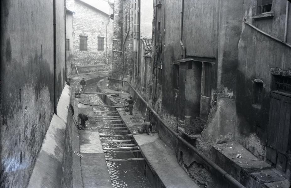 Le Morgon a Villefranche, 1953 © photo P Eymin, Coll Ville de Villefranche sur Saone