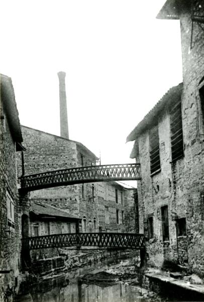Le Morgon à Villefranche, carte postale ancienne (1900 – 1910) © Collections Ville de Villefranche-sur-Saône