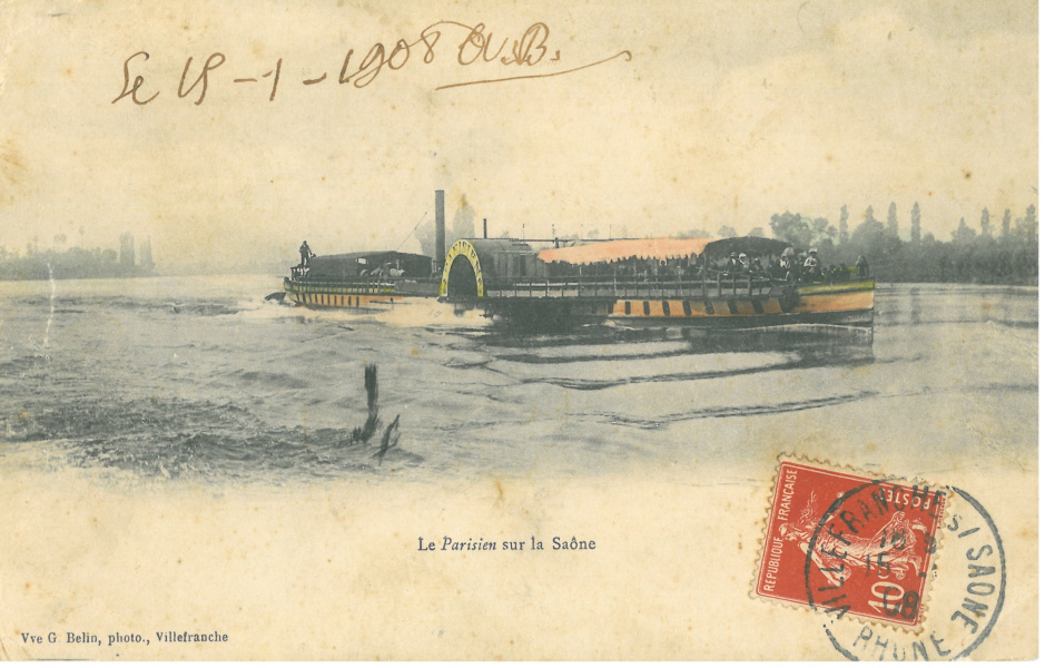 Le Parisien 1908 © PAH Dombes Saone Vallee