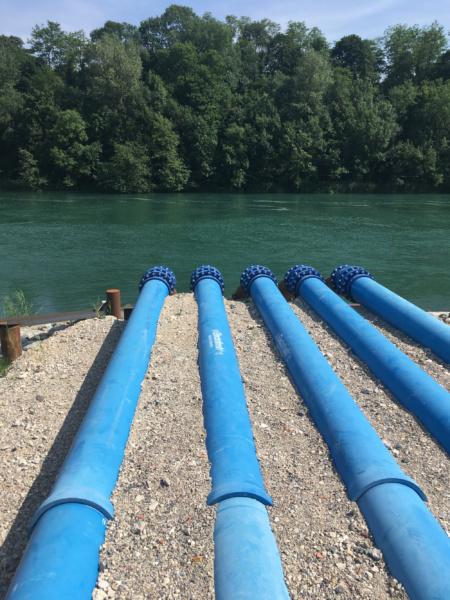 Les tuyaux © Cap sur le Rhone