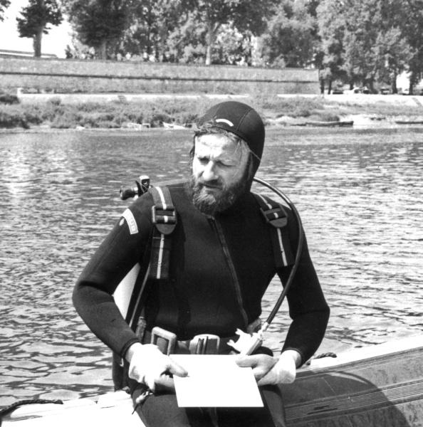 Louis Bonnamour en 1983 Chalon © L Bonnamour
