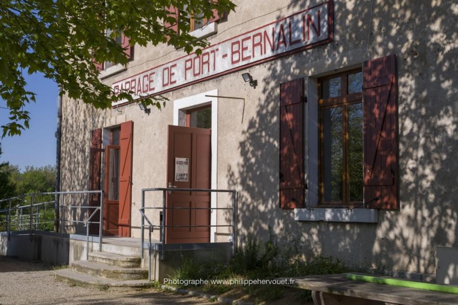 Maison éclusière de Port-Bernalin à Parcieux © Philippe Hervouet