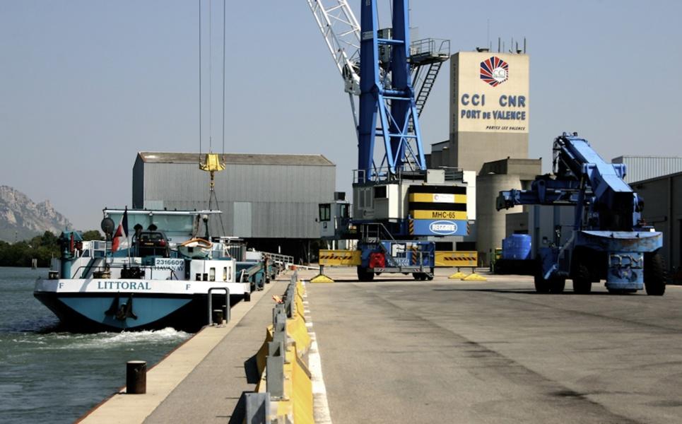Port de commerce © CCI Drôme
