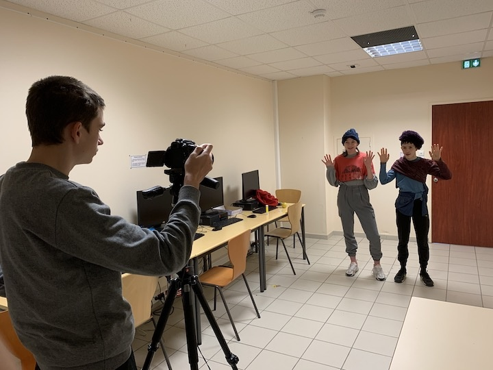 Semaine tournage Lycee Catalins © L