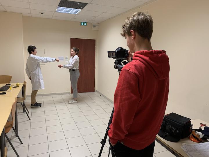 semaine tournage Lycée des Catalins 2 © L