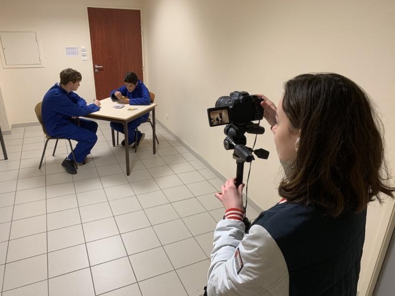 Semaine tournage Lycée des Catalins 3 © L