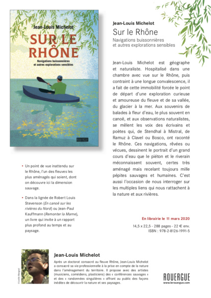 Sur le Rhone © Editions Rouergue Jean Louis Michelot