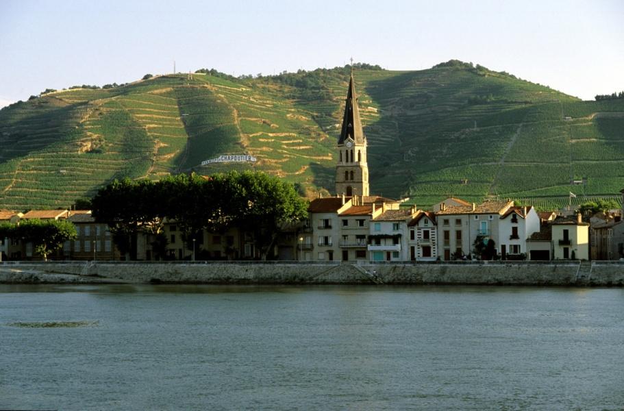 Vignoble des Côtes du Rhône, Tain l