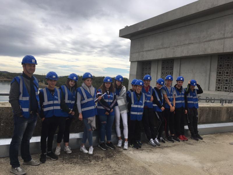 visite centrale hydroelectrique Bollene © Collection Fleuve Cap sur le Rhone
