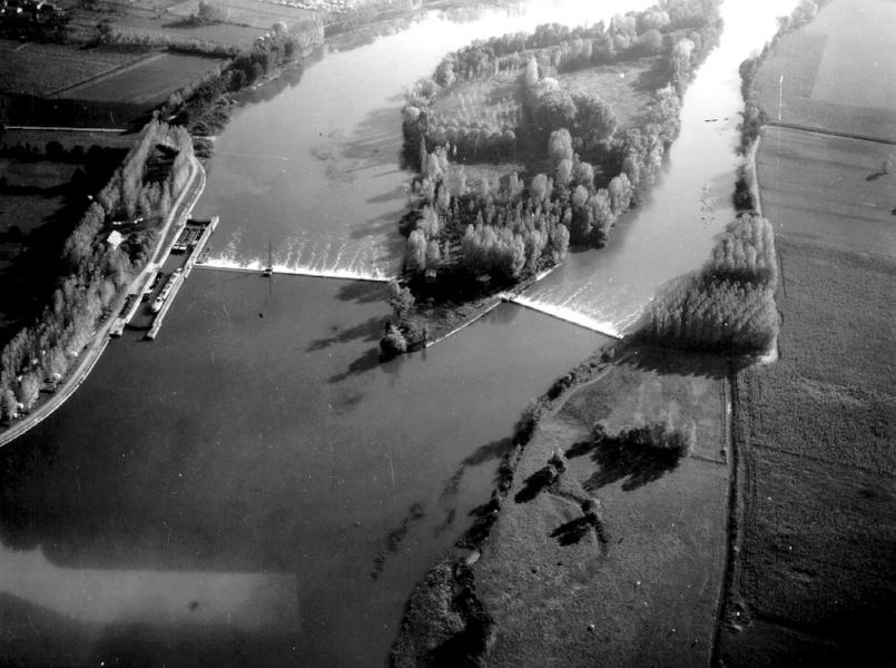 Vue aérienne Bernalin © Communauté de communes Dombes Saône Vallée
