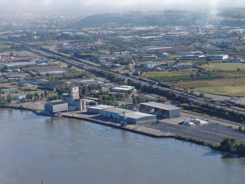 Vue sur le Port de Commerce © Chambre de Commerce et d industrie de la Drome