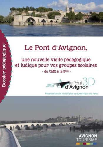 Dossier pédagogique Le pont d'Avignon © Avignon Tourisme