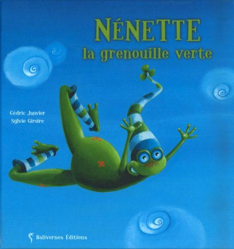 Nenette grenouille verte © S Giroire, Balivernes Editions